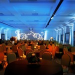 Museum of Biblical Arts wedding lighting