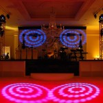 Brookhollow Country Club gobo lighting