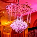 Adolphus party lighting