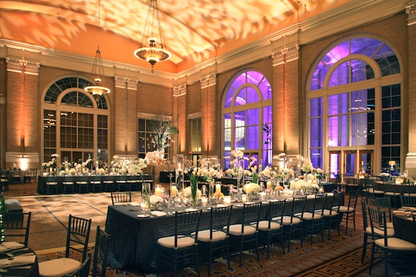 Union Station wedding lighting 2