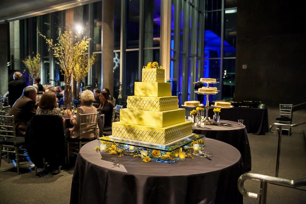 wedding lighting at Fort Worth Modern