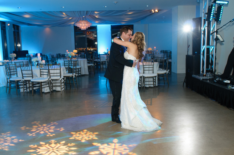 31-Cityplace Wedding, Winter Wonderland Wedding_ Blue, Silver, & White wedding