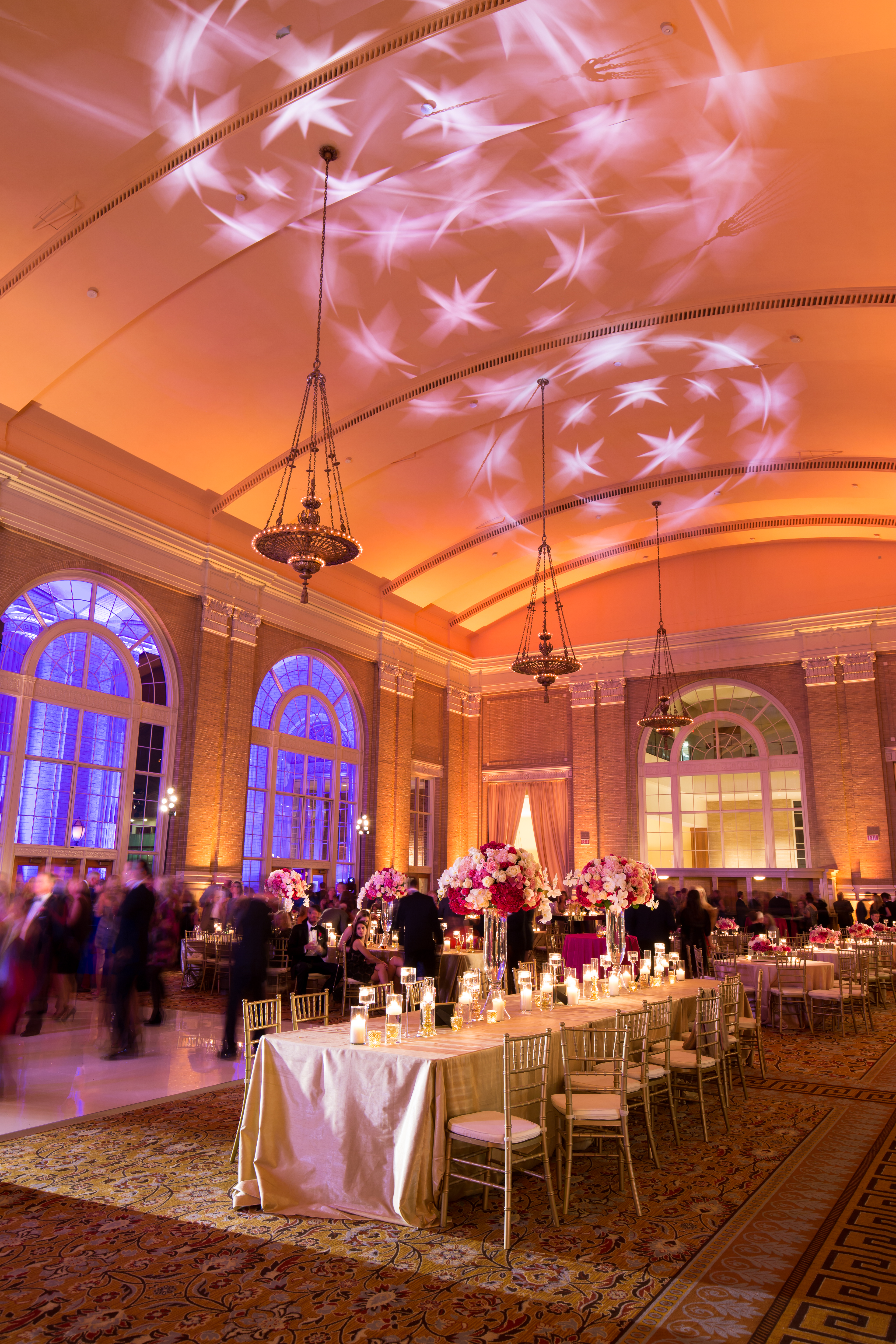 Go Beyond with pattern projections gobos lights pattern dallas fort worth events weddings Photo by Stephen Karlisch_0004