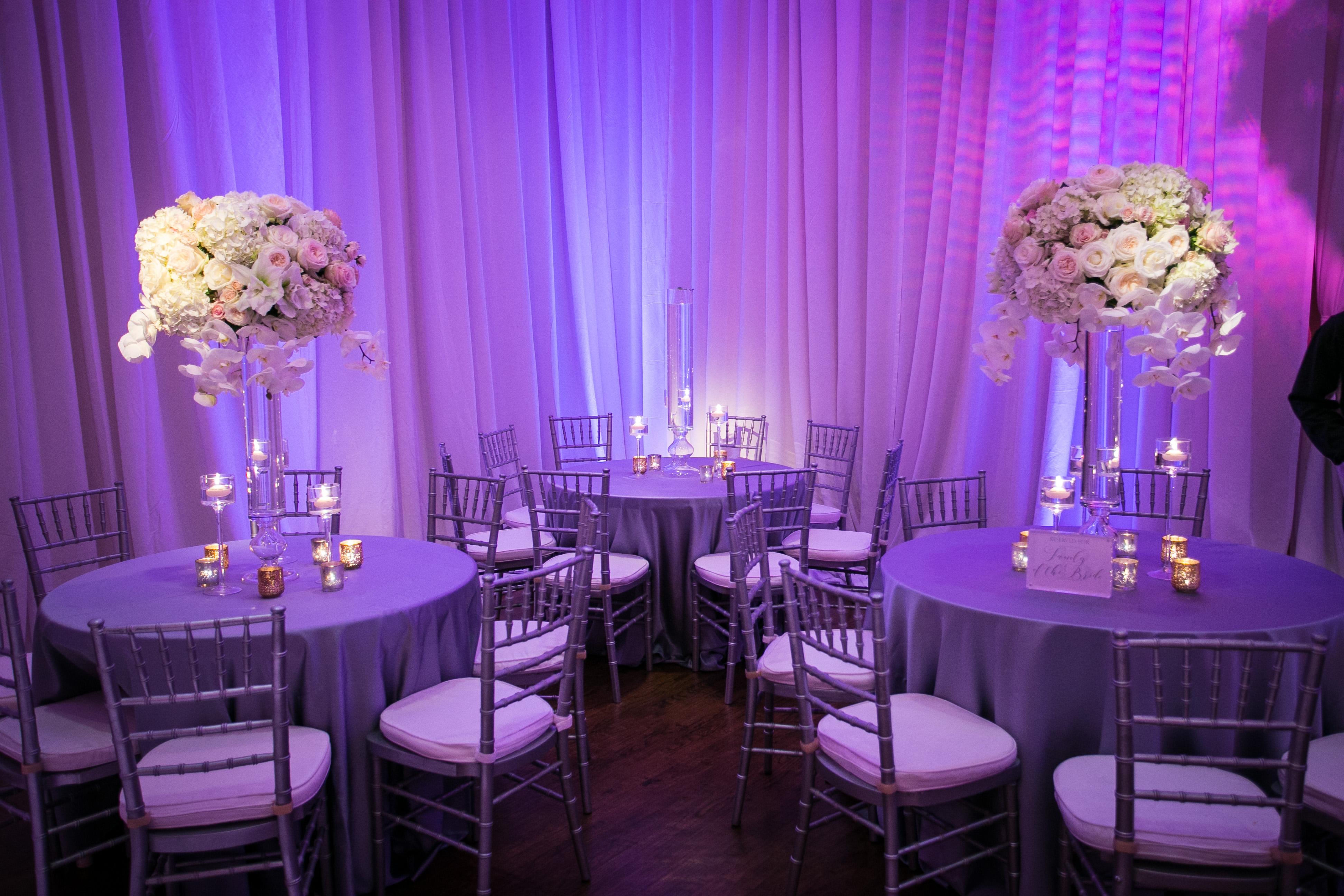 Wedding Event Lighting - Arlington Hall