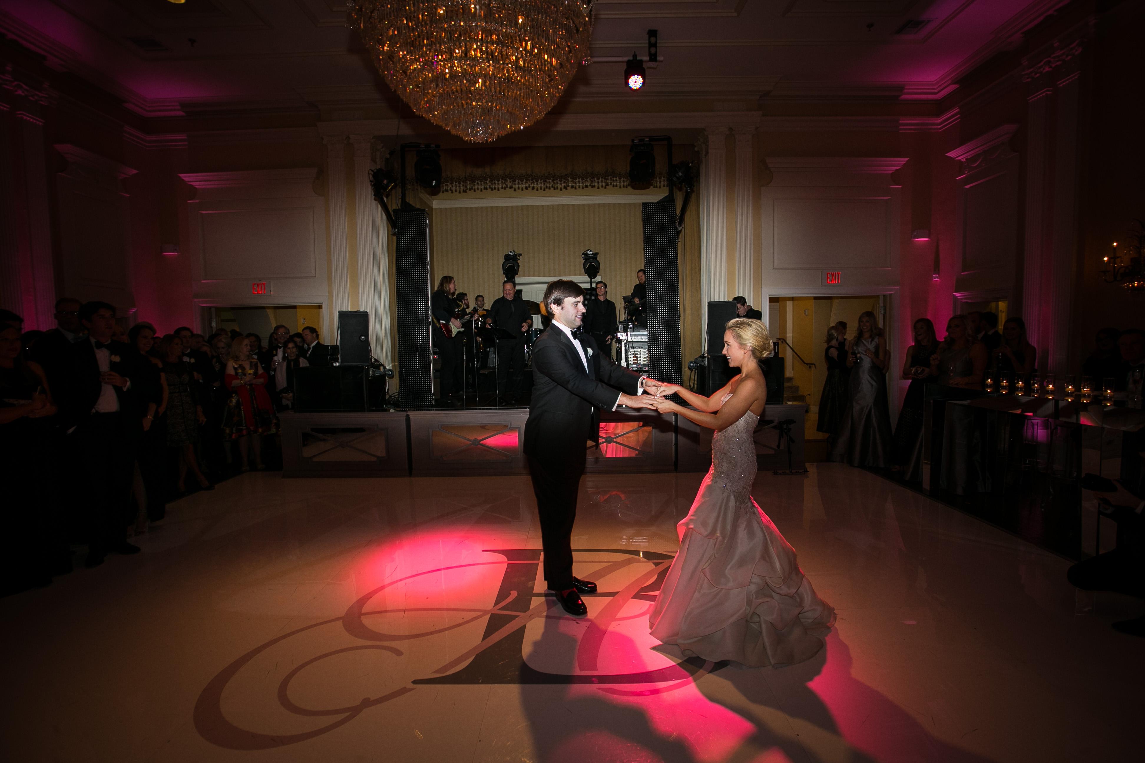 Wedding Lighting Dallas - Arlington Hall
