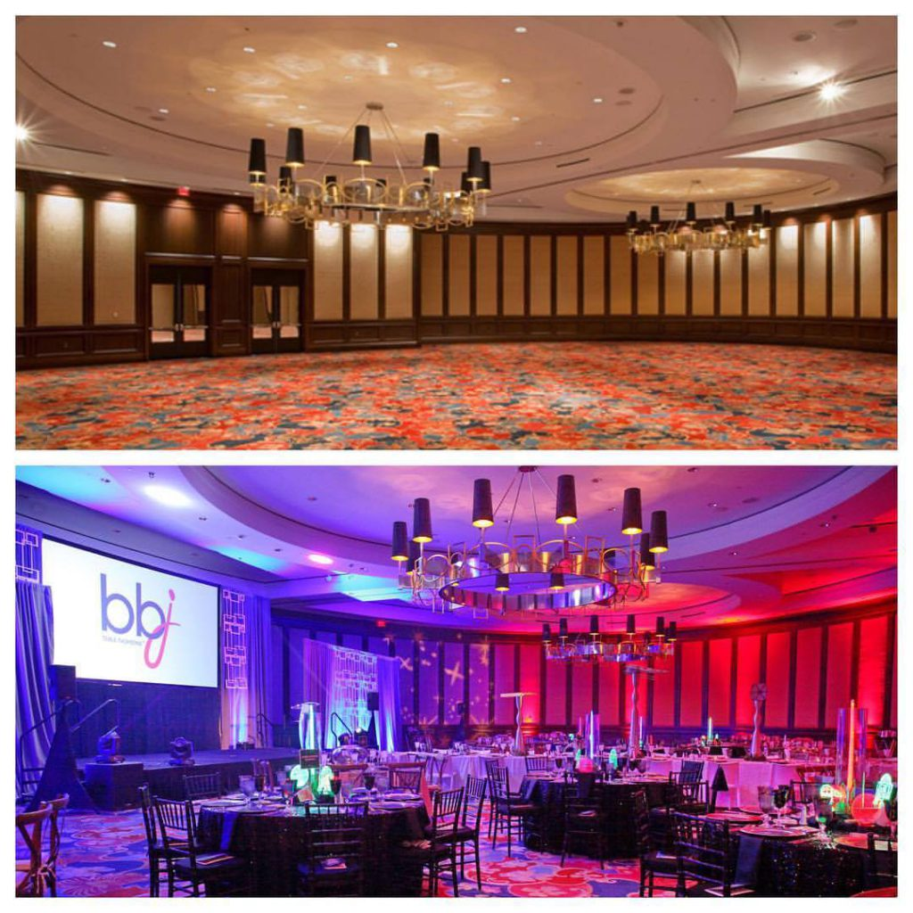 Transformation Tuesday Stemmons Ballroom At Hilton Anatole