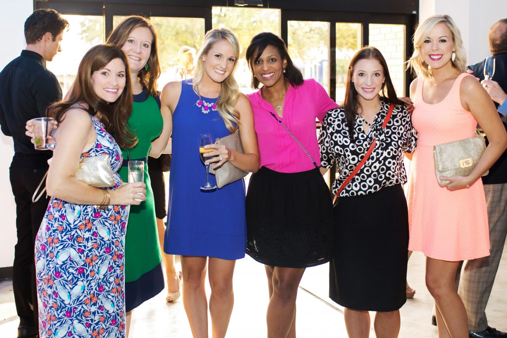 Jacqueline Hill, Wendy Timson, Brittany Statt, Kimberly Rhodes, Shelby Rhodes and Meagan Jones
