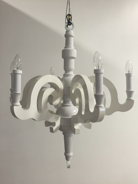 White Chandelier Beyond S Newest Lighting Feature